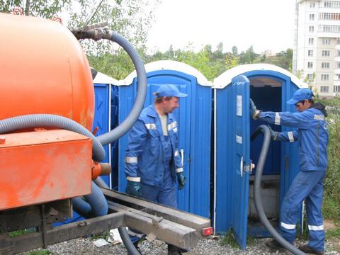 Фото 1. Аренда туалетных кабин в Москве