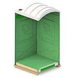 Фото 1. Дачные туалетные кабины для биотуалета