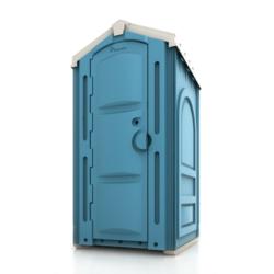 Фото 1. Уличный био туалет