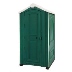 Фото 1. Туалетная кабина Люкс Зеленая