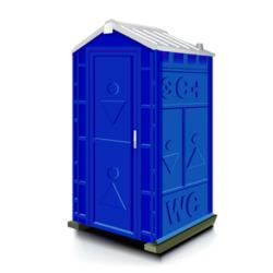 Фото 1. Туалетная кабина Дачник (Универсал)