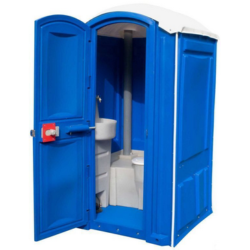 Фото 1. Пластиковая туалетная кабинка Стандарт г.Казань